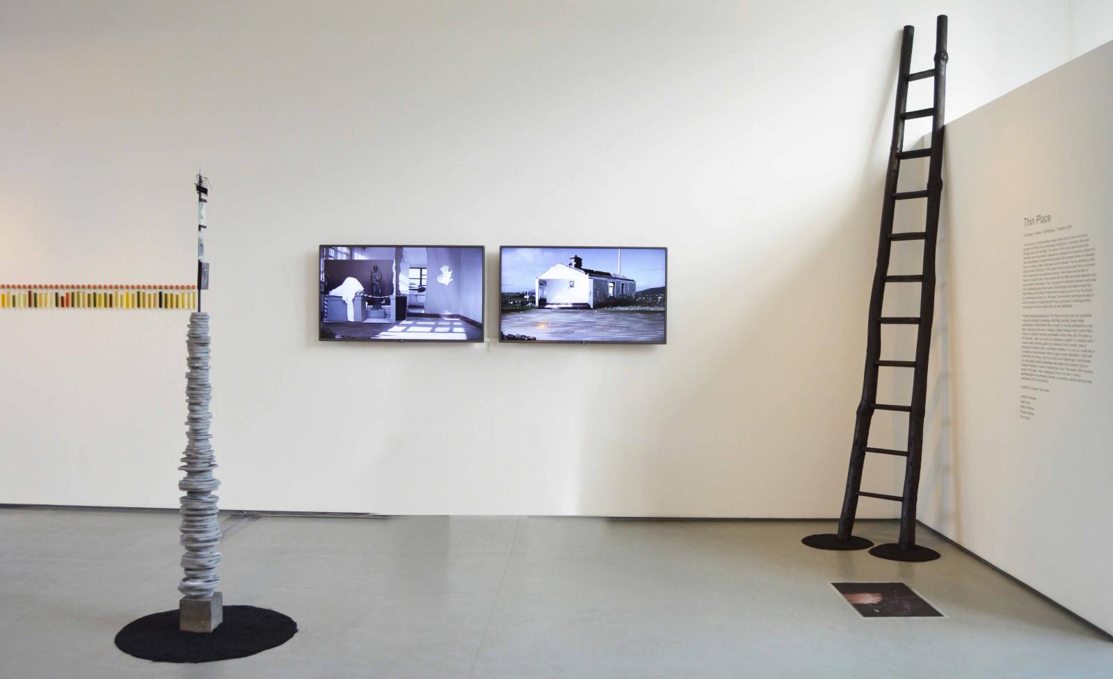 Thin Place, Oriel Myrddin, Carmarthen, Wales, 2015. Curated by Ciara Healy.