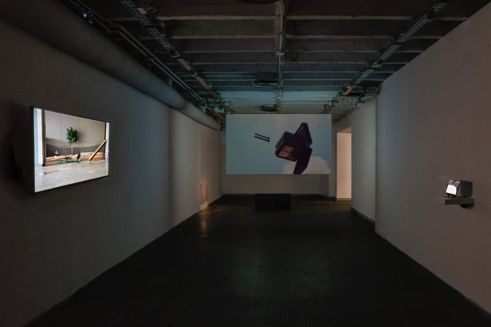 The Way of Objects, Podroom Gallery, Belgrade, Serbia, 2017. Curated by Isabelle Henriot & Nyima Leray.
