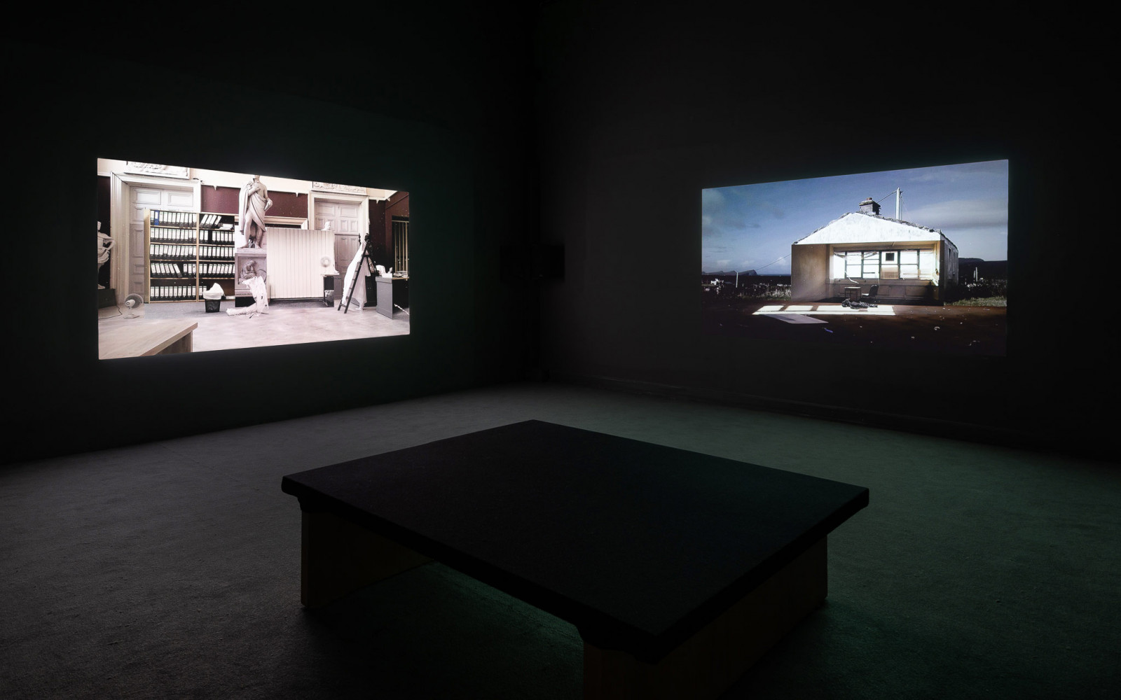 Great Good Places, Crawford Art Gallery, Cork 2019 (solo). Curated by Dawn Williams. Photo: Jed Niezgoda Courtesy: Crawford Art Gallery